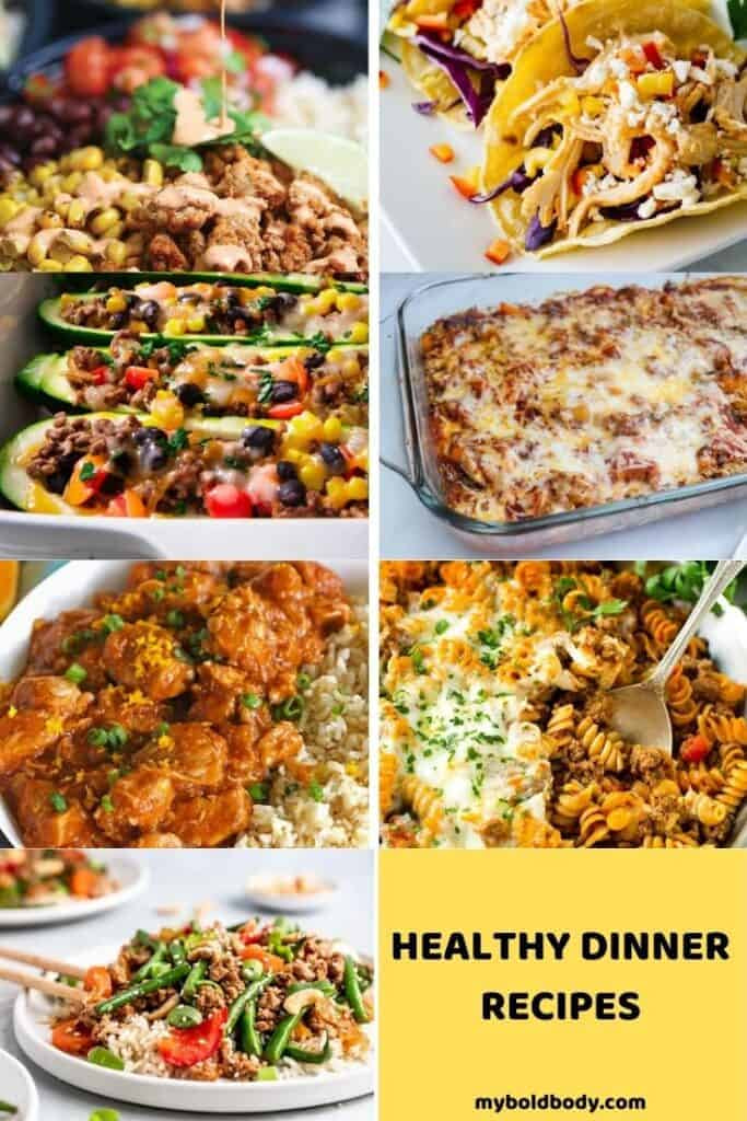 7 day Intermittent Fasting Meal plan Dinner