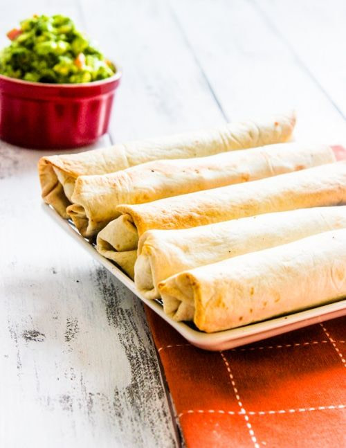 Southwestern Chicken and Cheese Rolls