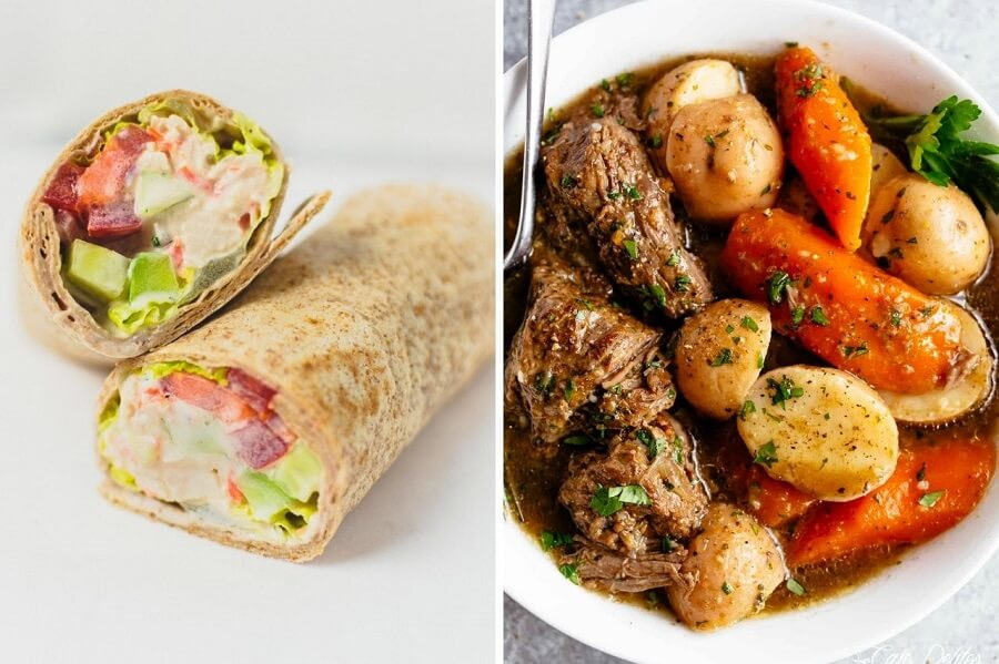 7-Day 1200 Calorie Meal Plan Day 5