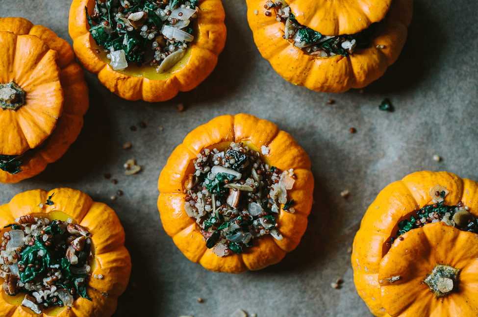 Stuffing-Filled Pumpkin - 11 Free Keto Snack Meals Recipes