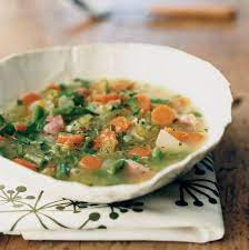 Spring Soup with Gourmet Grains