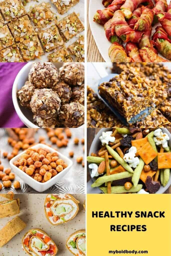 7 day Intermittent Fasting Meal plan Snacks