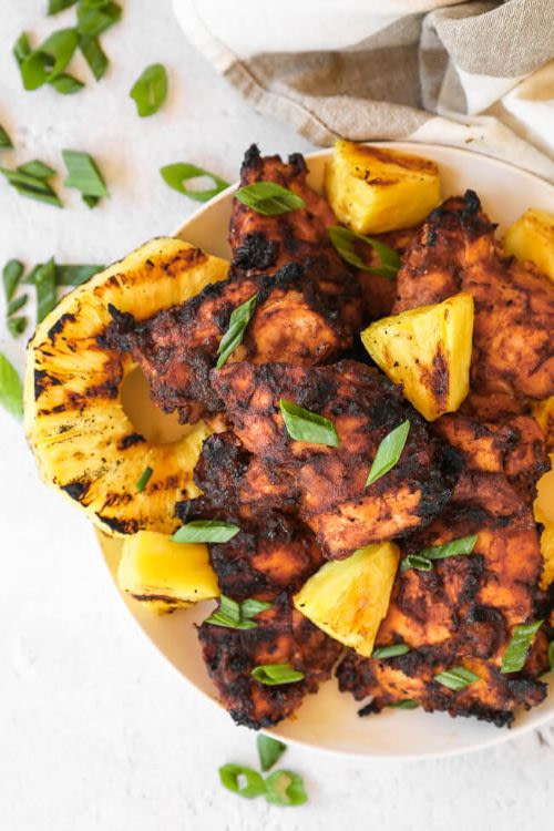 Healthy Grilled Pineapple Chicken