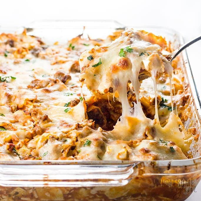 Easy lazy cabbage roll casserole